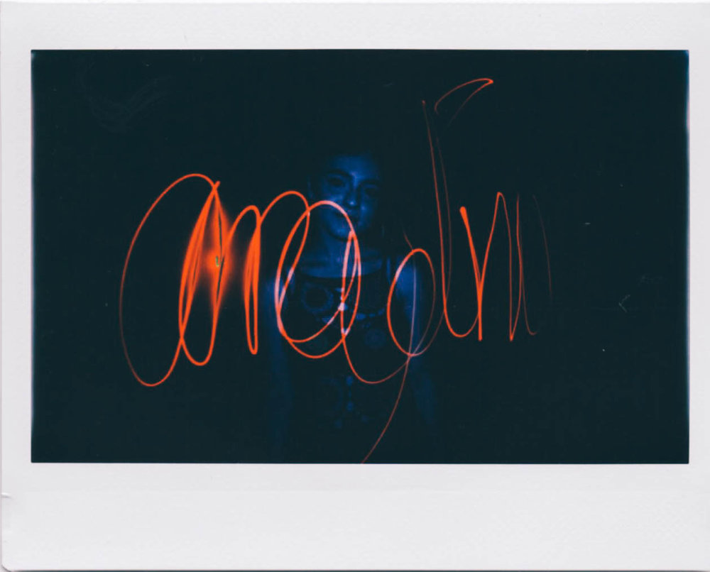 photo by Adrian Samano Instax Wide film