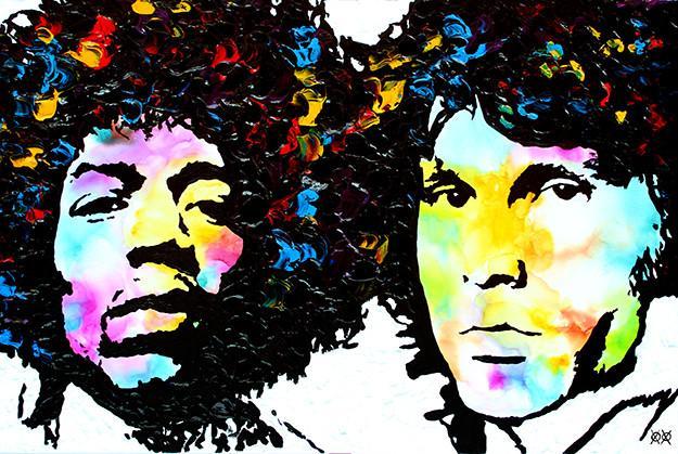 """Jimi and Jim""  Photo courtesy of John Bramblitt"
