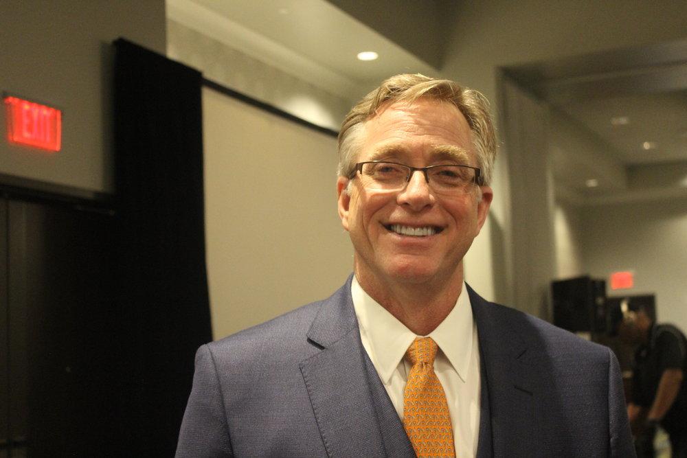 Mayor Chris Watts.  Photo by Claire Cadena.