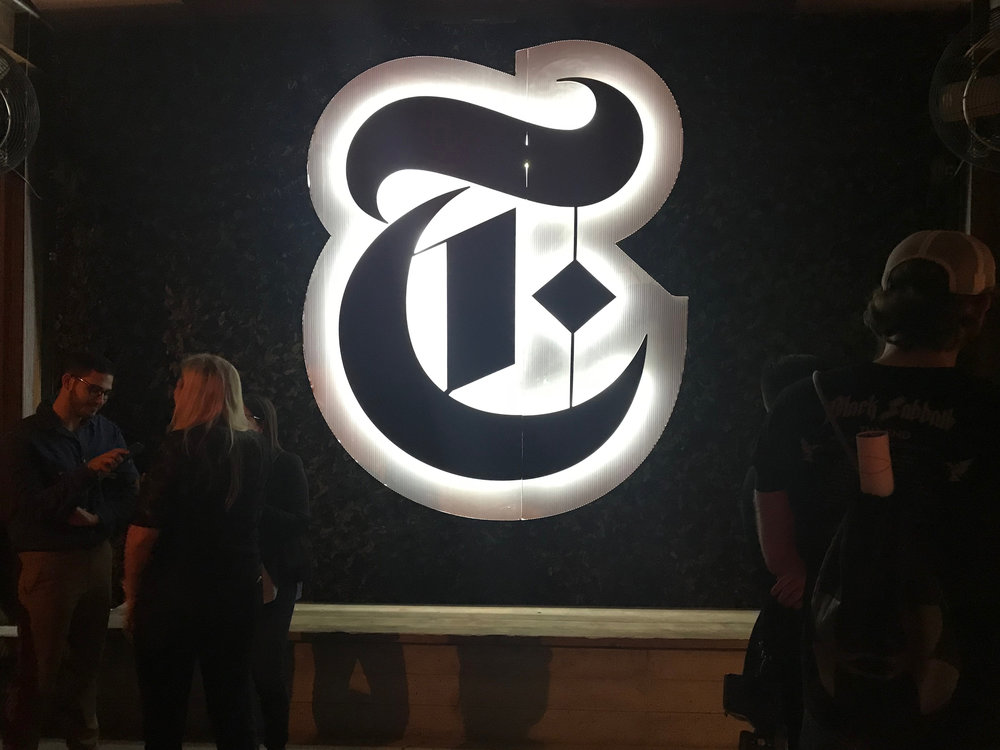 New York Times Magazine Launch Party