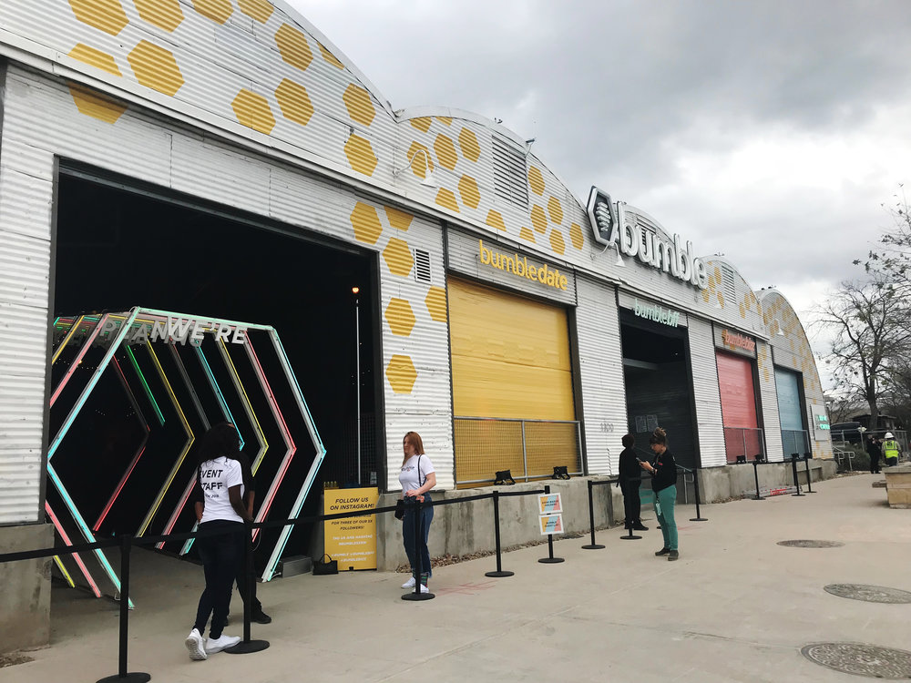Bumble Pop-Up Event