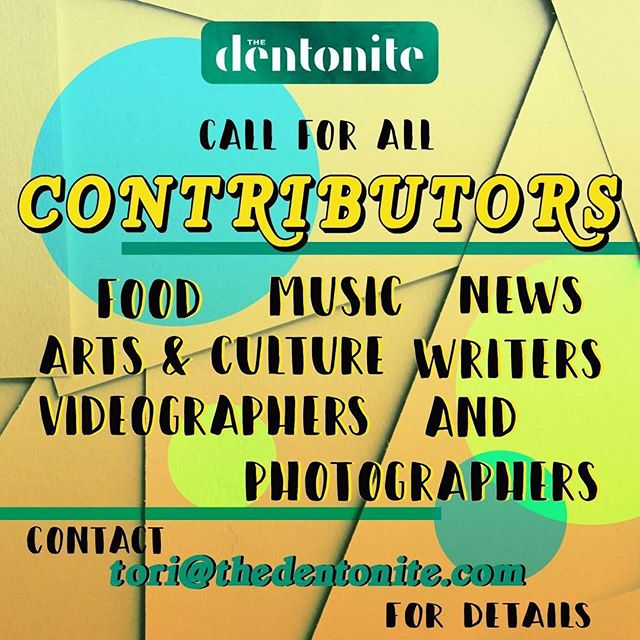 Do you love writing, editing, taking photos, and/or making videos? Want to share some of that work with a publication? Hey! That's what we are & what we do! & we want to work with you. Contact Tori for more information.