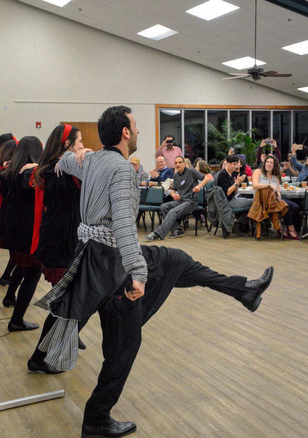 Traditional Dabke dance