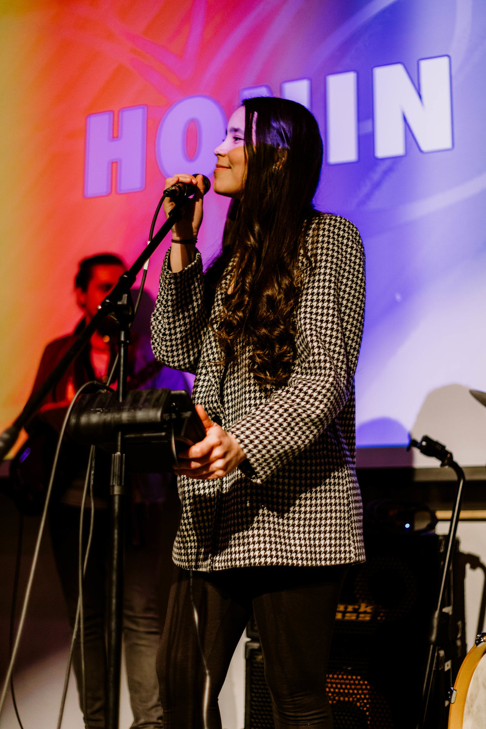 HONIN performs during the 3rd Annual DAM Awards pre-show.