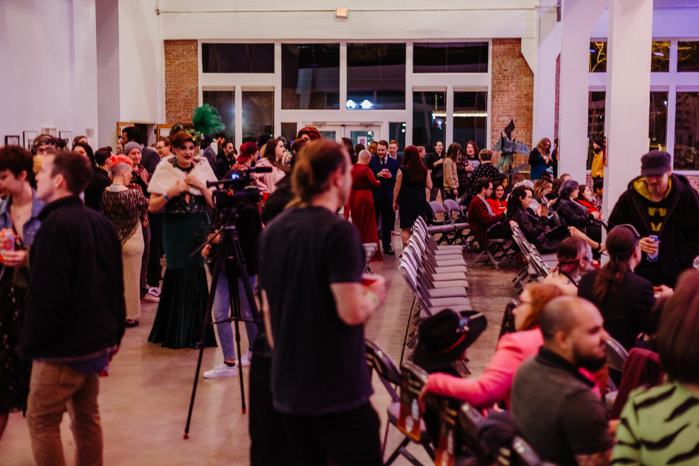 The crowd at the DAM Awards, held in the Patterson-Appleton Arts Center.
