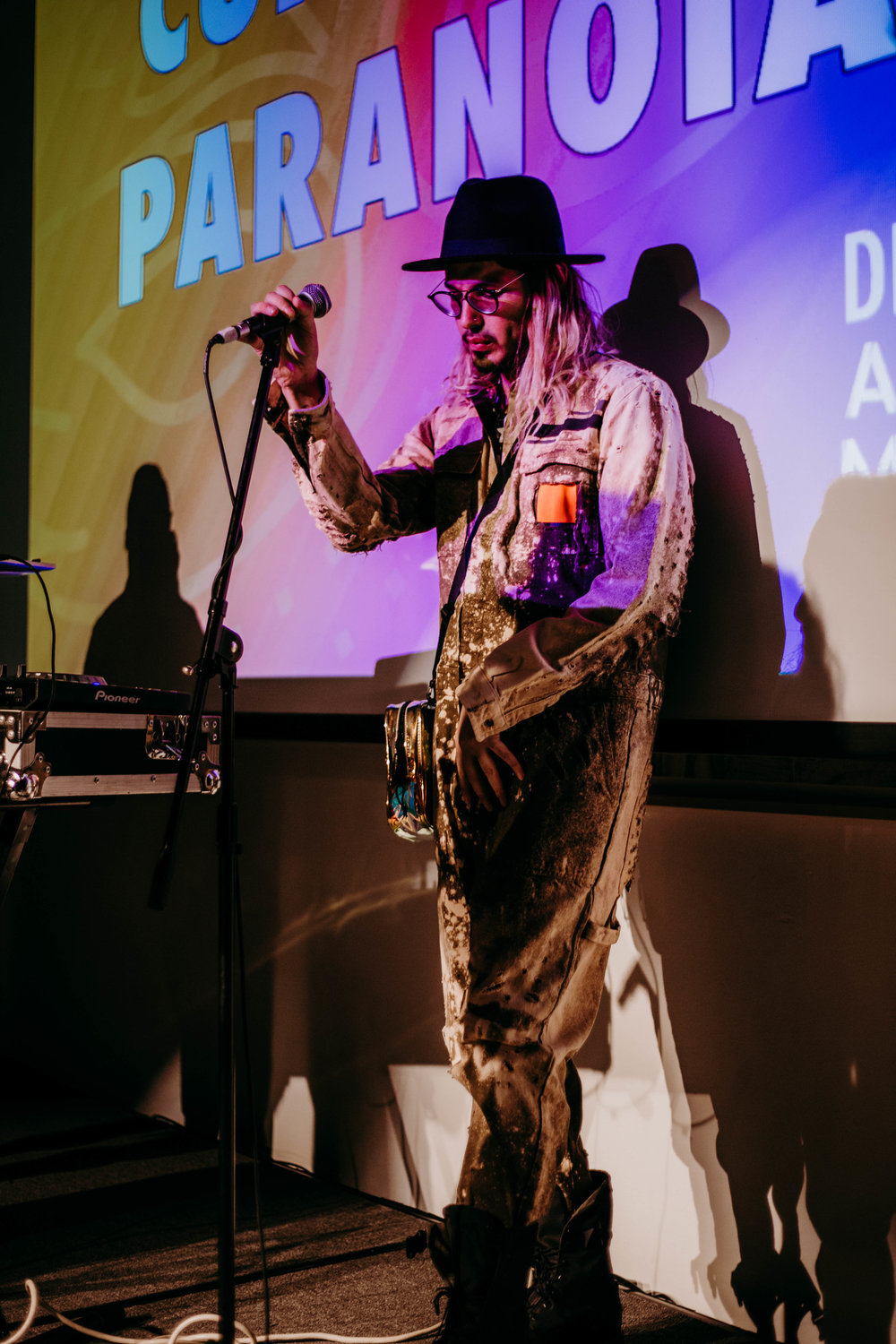 Cure For Paranoia performing during the DAM Awards.