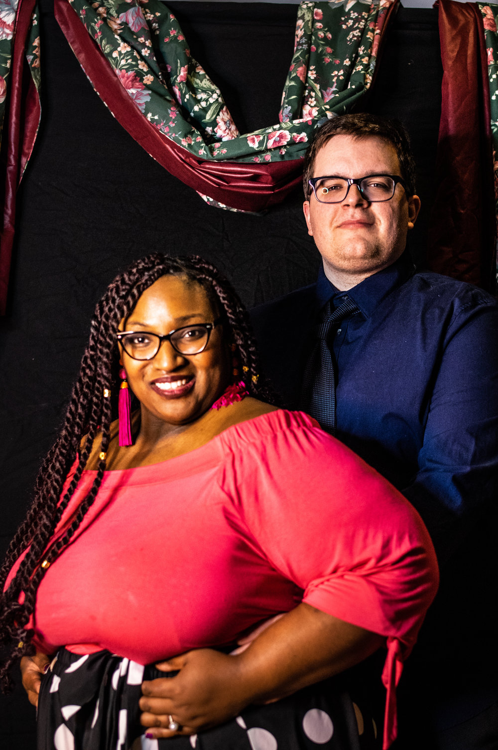 Friends, bandmates, and lovers of all kinds posed for photos at the DIY Prom.