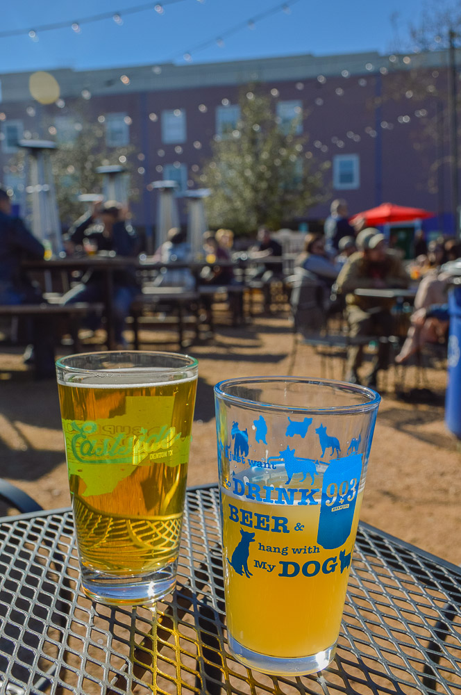 """903 brewery teamed up with Eastside with a Coconut Lime and a stout beer. Event cup reads: """"I just want to drink beer and hang with my dog""""."""