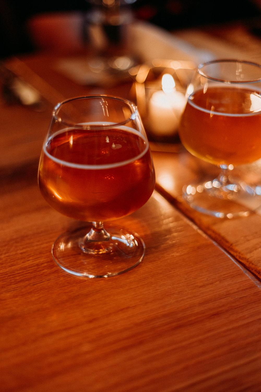 Armadillo Ale Works' Honey Please beer.