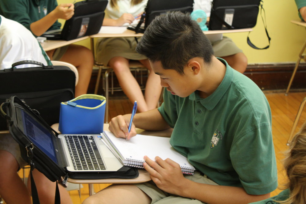 Classrrom_Chinese student.JPG