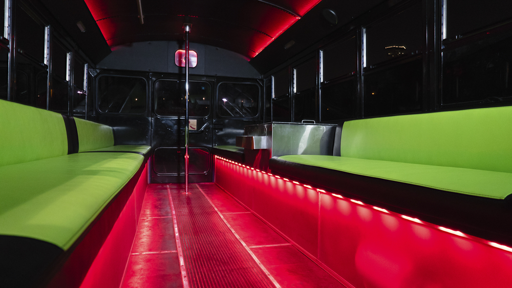 Cool Bus Houston - Houston party bus interior
