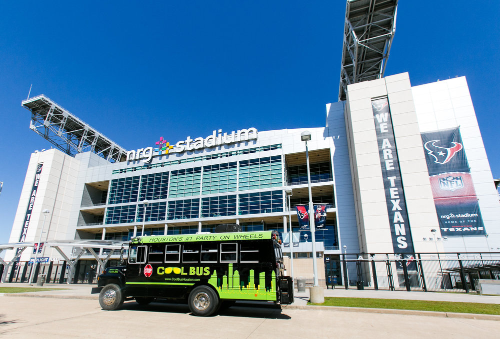 Cool Bus Houston at NRG Stadium