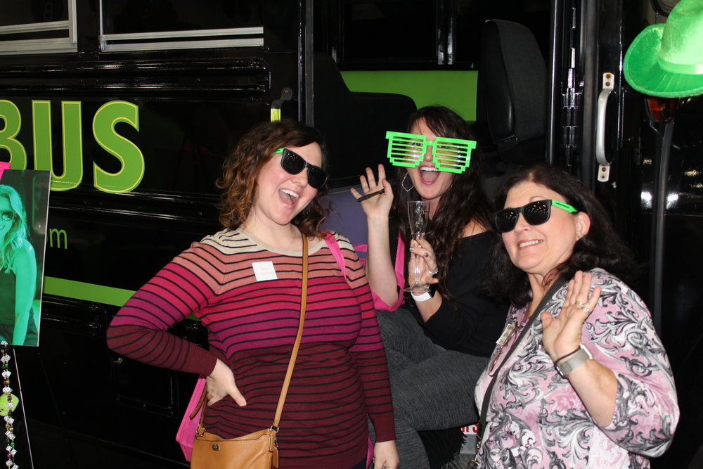 Cool Bus Houston party bus at Bridal Extravaganza in Houston, TX