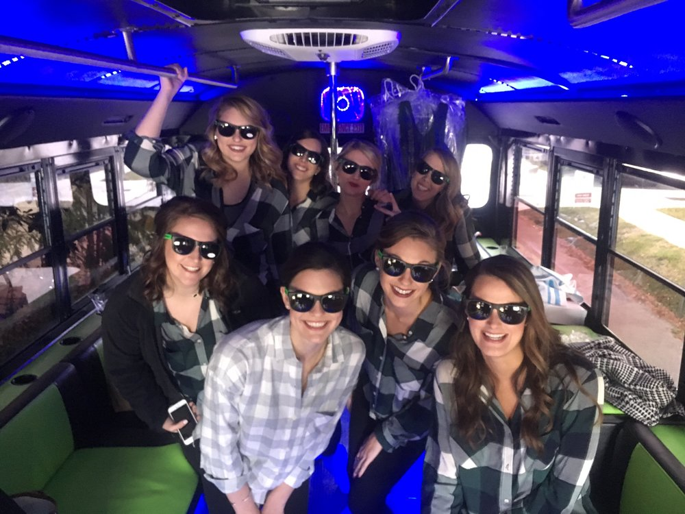 Cool Bus Houston Bridal Party Transportation