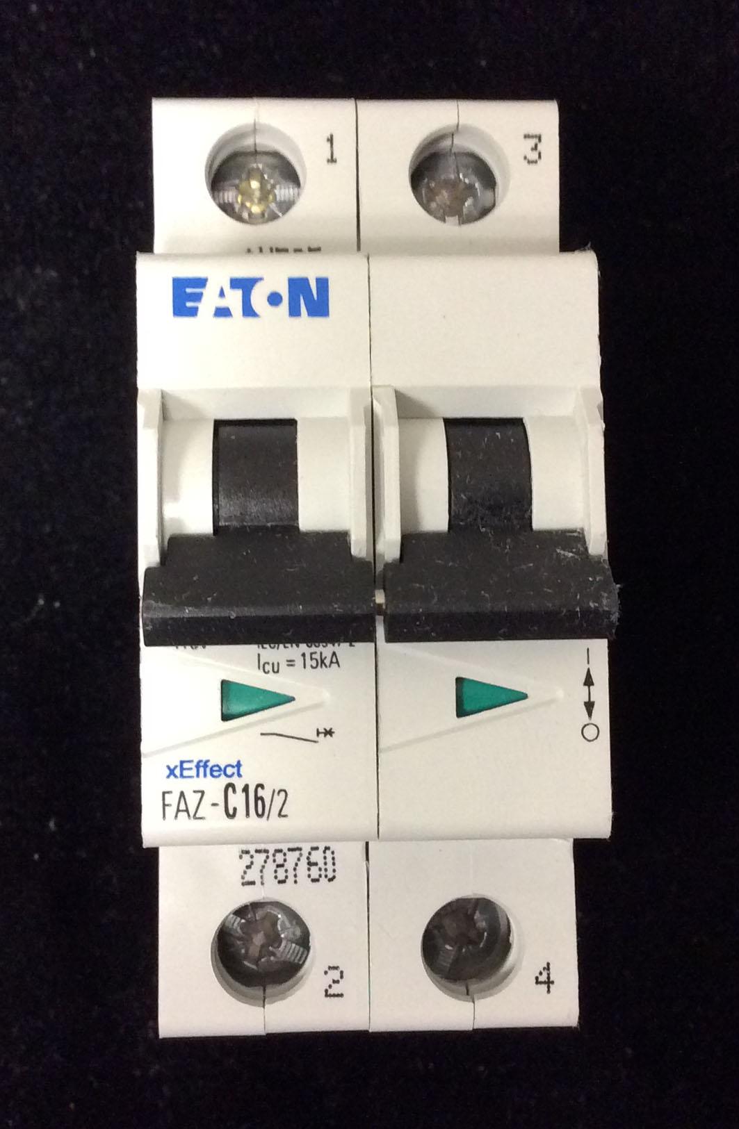 Gallery 1 Azure Electrical Technology Inc Change Circuit Breaker Eaton Double Pole 16amp Plug On Faz C16 2