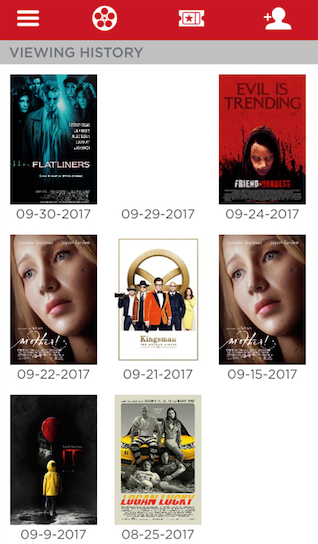 Movies that I saw in the month of September
