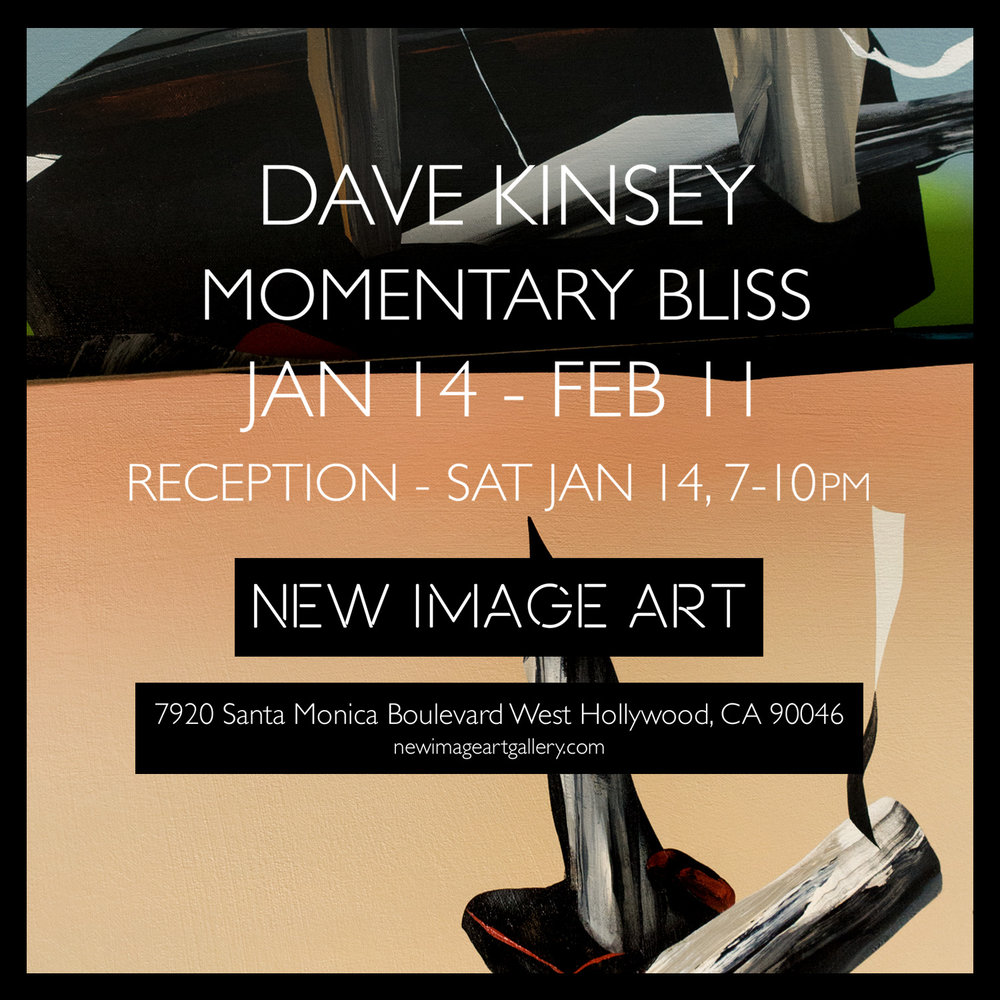 Momentary Bliss - New Image Art Gallery - Los Angeles CA - January 14th, 2017