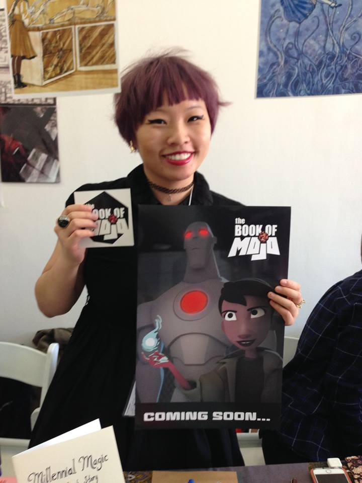 Wendy Xu of Angry Girl Comics!