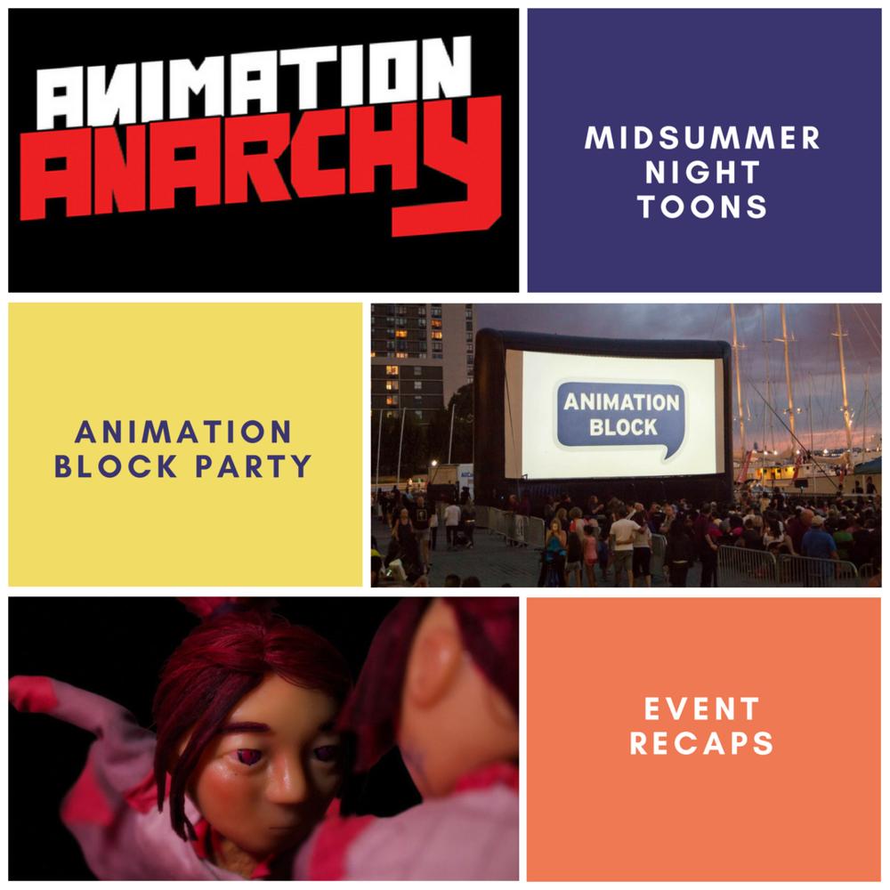 Midsummer Night Toons & Animation Block Party — SimplyRobotix