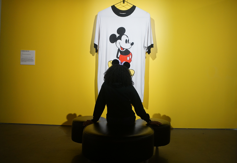 """""""I only hope that we never lose sight of one thing — that it was all started by a mouse"""" - - Walt Disney"""