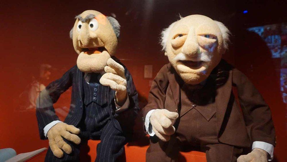 Statler & Waldrok puppets, 1979