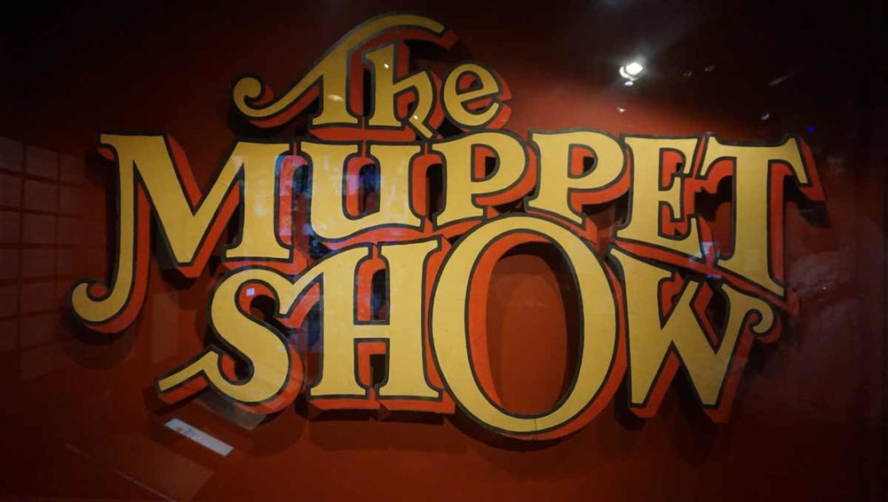 The Muppet Show sign. 1976