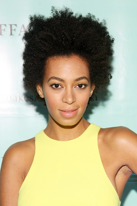 I have always loved watching Solange's natural hair journey!