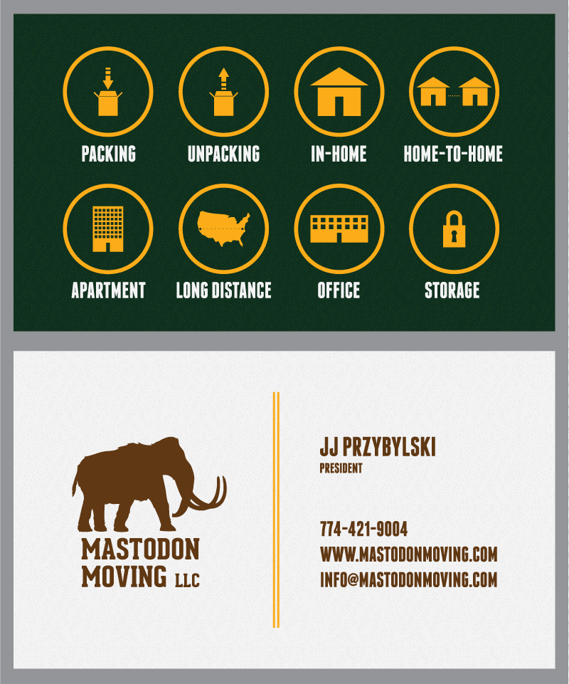 Mastodon Moving — Doubleknot Design