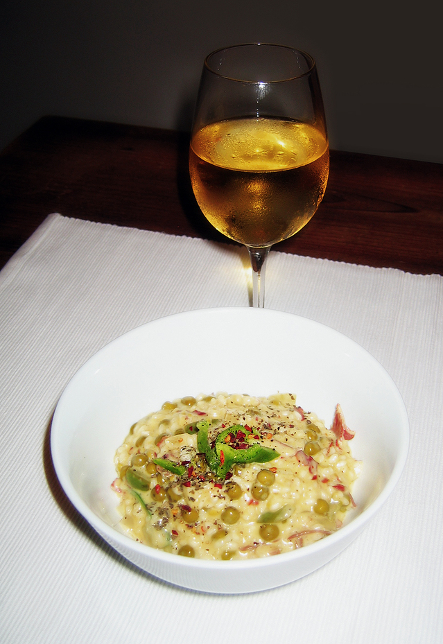 Risotto makes a wonderful healthy dinner! Photo from www.freeimages.com