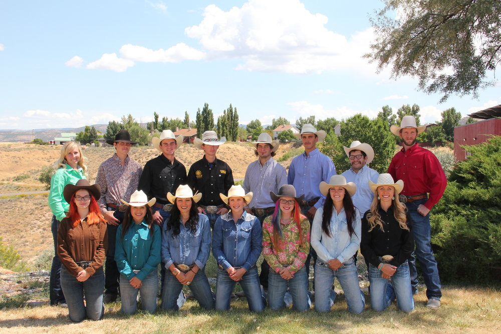 CNCC's Rodeo Team 2016-2017 Come check them out tonight!
