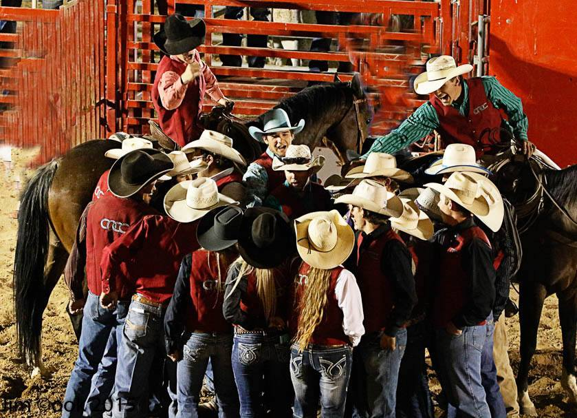 Photo courtesy of Jed Moore, Head Coach of the rodeo program at Colorado Northwestern Community College