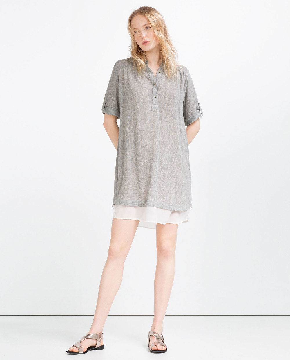 Contrast Tunic by Zara