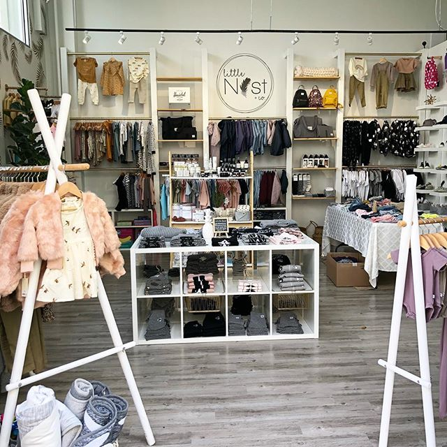 We love this sweet local shop @littlenestxco located in Morgan Crossing. My girls 12, 9 & 7 may have outgrown this stage, (cue the tears😭) but this doesn't stop me from being drawn into this stunning storefront. Every. Time. ❤️❤️❤️ #shopsweet #shoplocal
