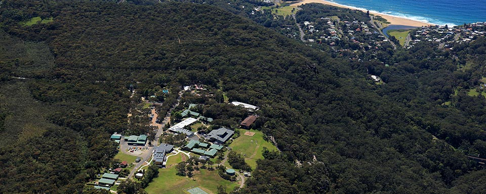 Aerial view of the Tops Conference Centre