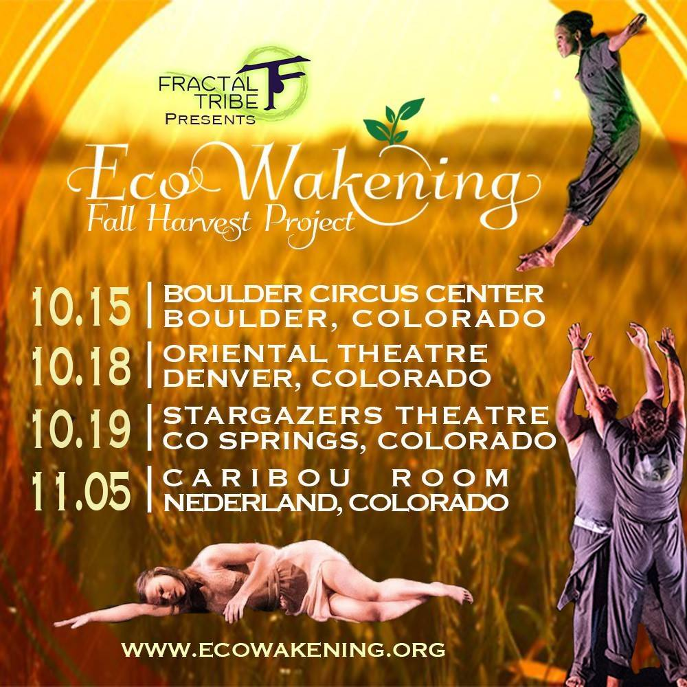 We are delighted to be joining EcoWakeing, the cirdus performance troupe, on their Harvest Tour this fall! Solutions Voyage will host a sustainability fair, and permaculture action at every stop <3.