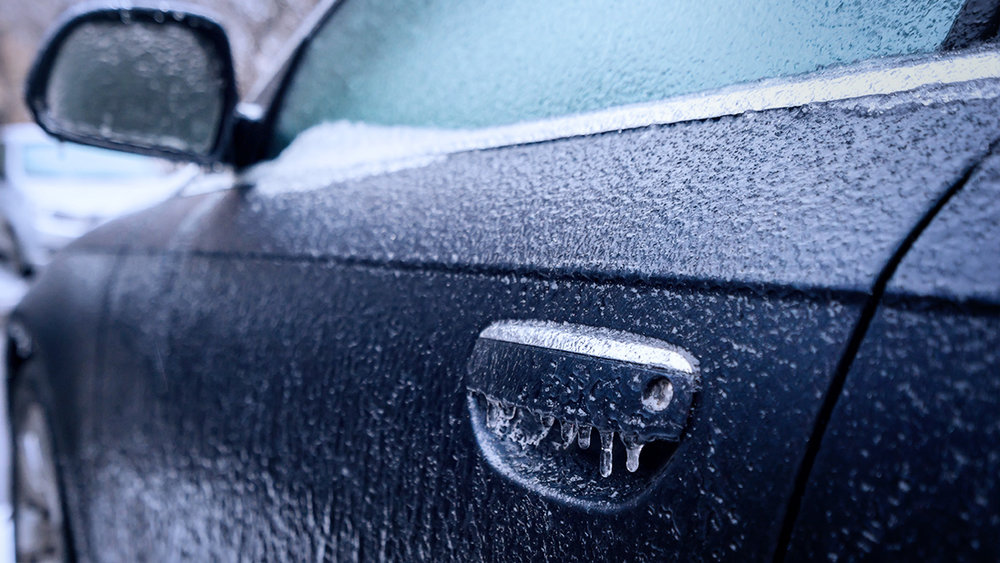 Seriously, cold car door handles are the worst.