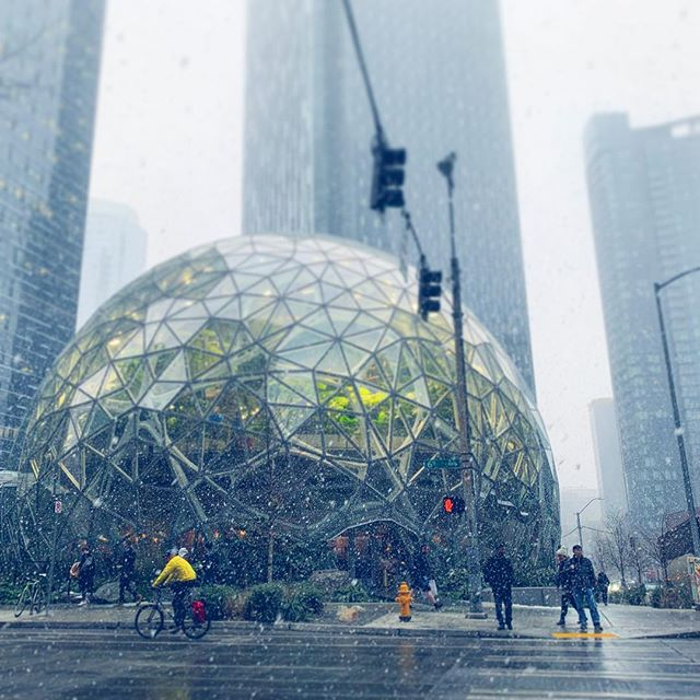 Snowing at the Spheres!