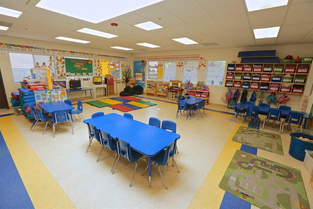 Spacious Classrooms! -