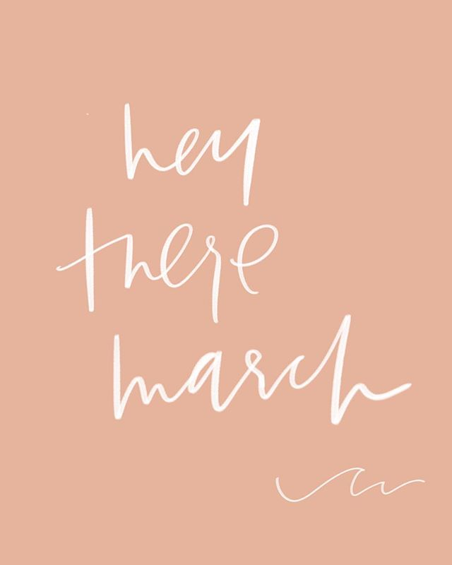 It's birthday wave month 🧡💃🏼🎉🌊 But seriously, how is it March already?? • • • • • #march #marchmadness #pisces #birthdaymonth #springbaby #spring #meghanndwriting #meghannminiellocreative #handlettering #ipadlettering #ipadpro #digitallettering