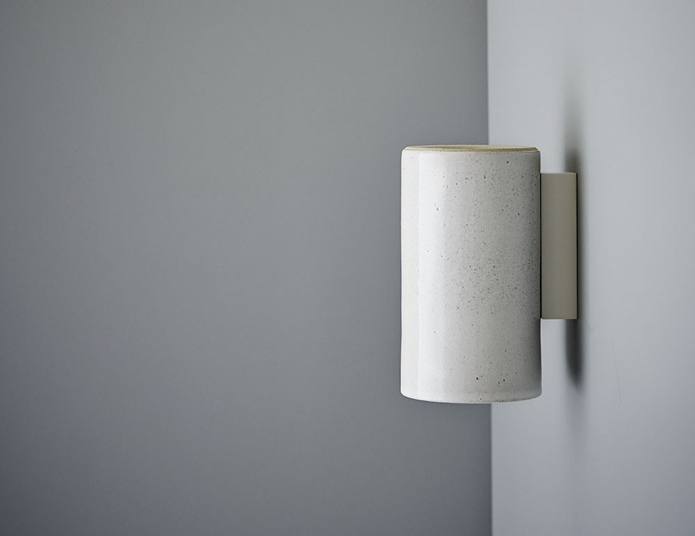 SLIDE SHOW 04_Earth wall light speckled white glaze.jpg
