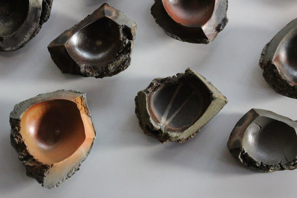 Torn Sculpture Mini Plates