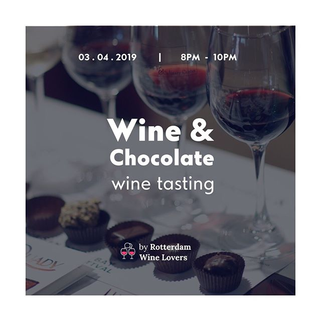 My top guilty pleasures combined! Are you a wine & chocolate lover? Join my tasting next week. Co-hosted by @angelikipapagiannakou MSc Wine Business. ⁣ ⁣ In this chocolate and wine tasting you:⁣ - will learn the basics of combining chocolate and wine⁣ - taste 6 delicious wines⁣ - paired with 6 different types of chocolate⁣ - will hear the stories of the wines, as well as the people who created them and the lands that gave birth to them.⁣ ⁣ As always:⁣ - no previous wine knowledge required, we will make you feel at home⁣ - enjoy the tasting in a laid back atmosphere among good people⁣ - tastings are held in English⁣ ⁣ ⁣
