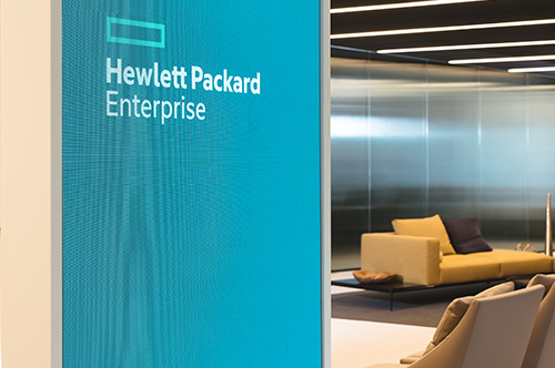 Indoor LED Display for HP Enterprise Centre London