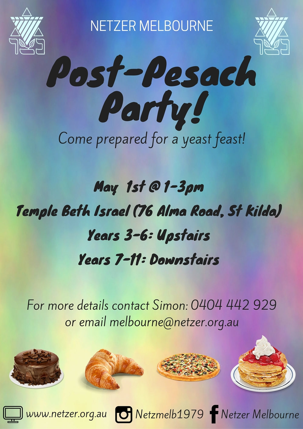 Post-Pesach Party 1/5/16