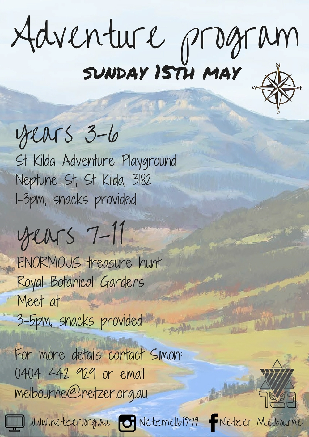 Netzer's Adventure Program (Years 3-6) 15/5/16