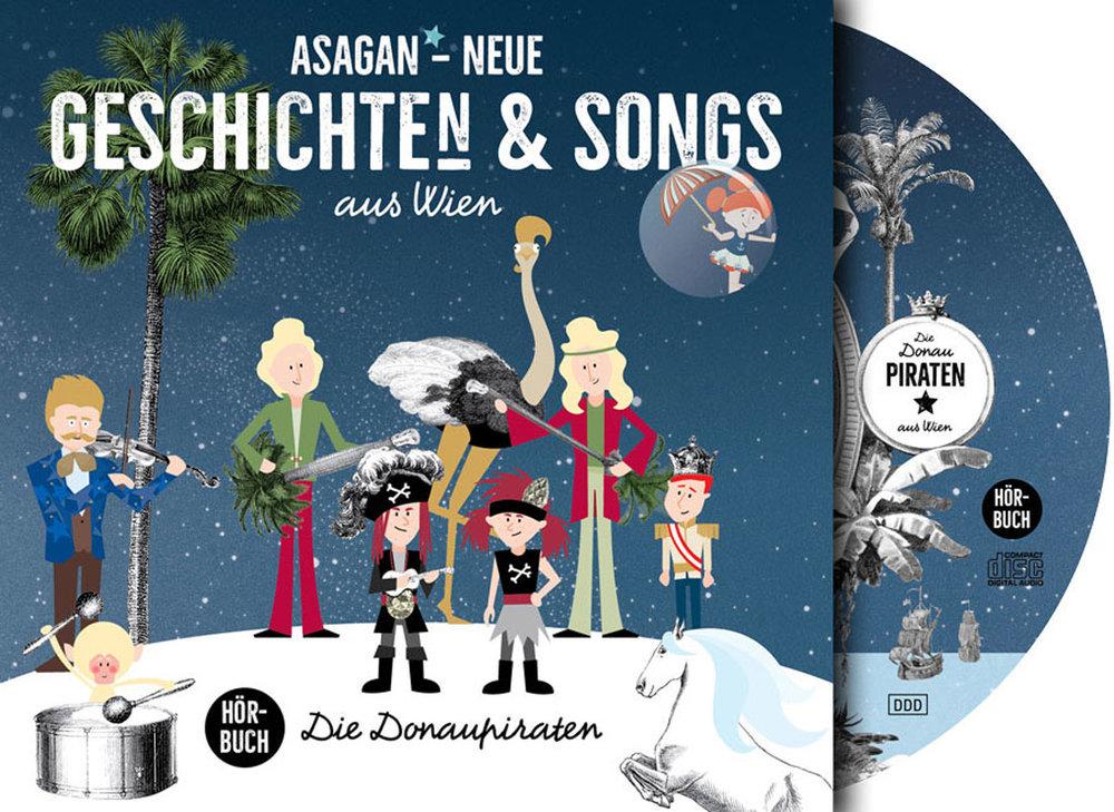 Das neue Hörbuch mit Geschichten & Songs jetzt auf  Startnext!