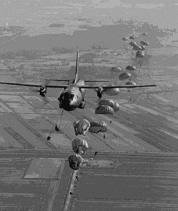 """""""…balzando dai nostri apparecchi,  ci lanciamo nella vastità dei cieli.""""  Preghiera del Paracadutista"""