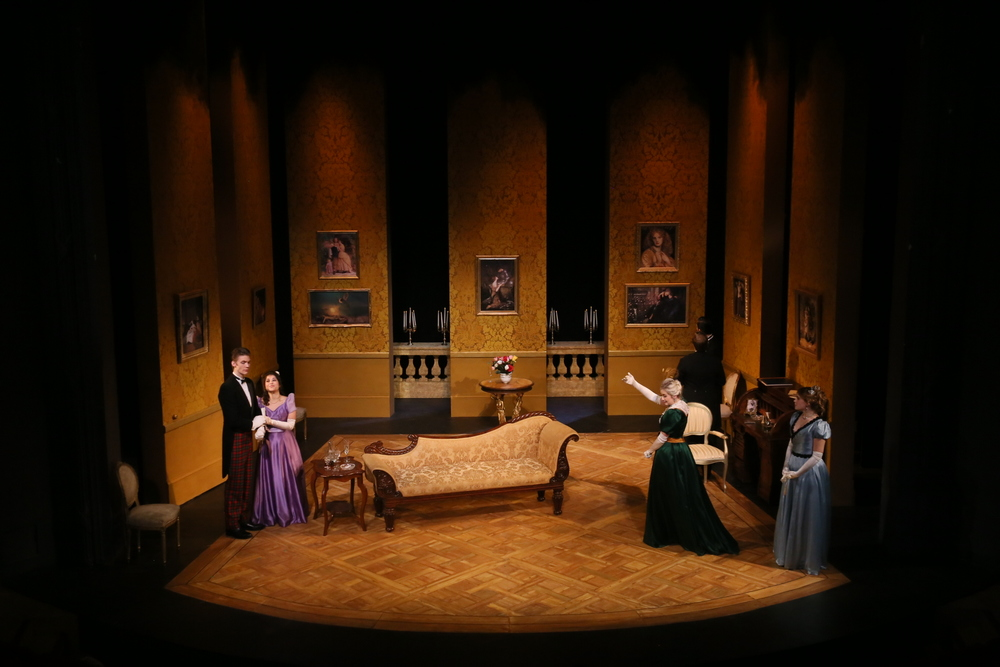 Lady Windermere's Fan - The Embassy Theatre @RCSSD 2014