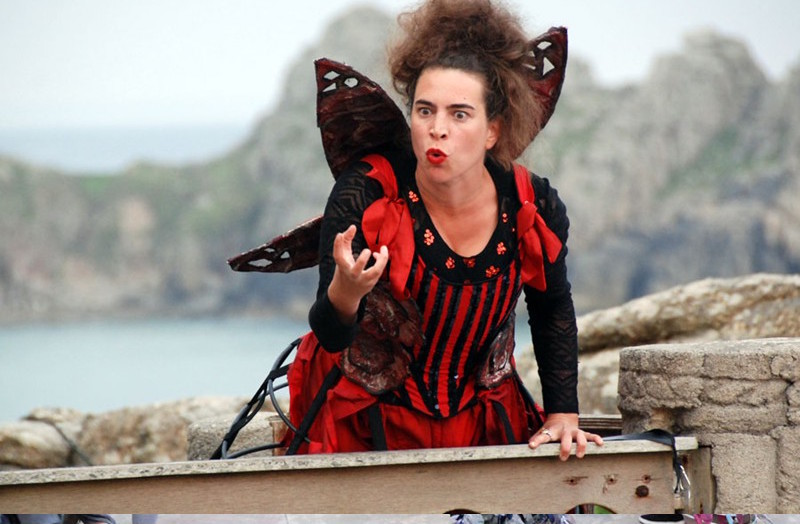 The Dreams of Sleeping Beauty - The Minack Theatre 2014