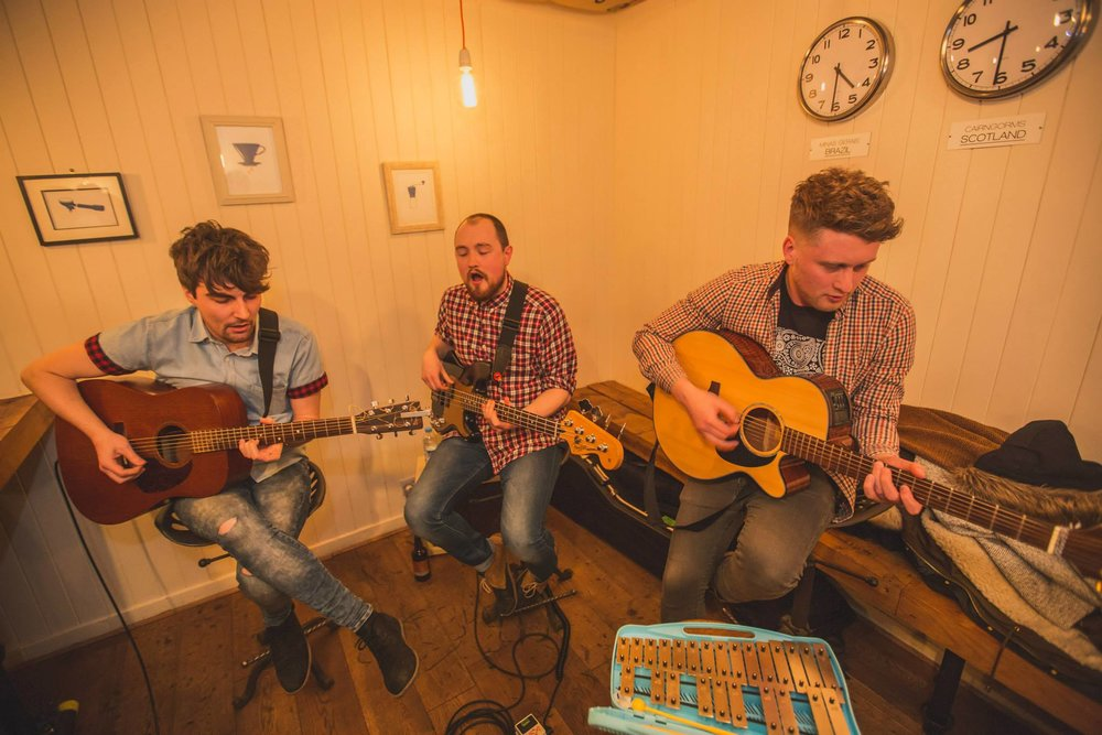 The Winter Tradition even performed - check out their new vibes at 'Folda'